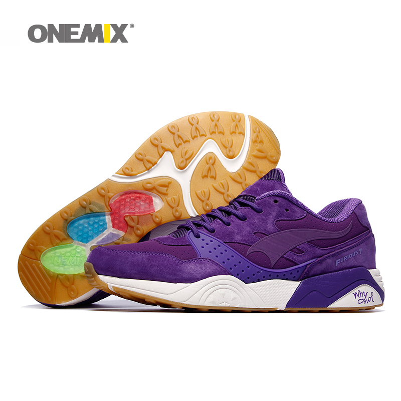ONEMIX Free Ship Man Running Shoes Women Winter Retro Classic Athletic Trainers Zapatillas Sports Shoe Outdoor Walking Sneakers