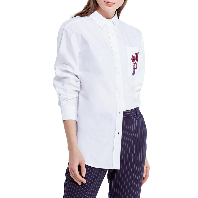 Blouses & Shirts MODIS M181W00306 woman blouse shirt blusas for female TmallFS женские блузки и рубашки summer shirt kimono blusas 2015 camisas femininas