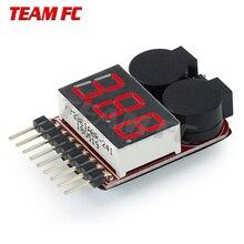 2PC TeamFc 1pcs Hot Sell 1-8S LED Low Voltage Buzzer Alarm L