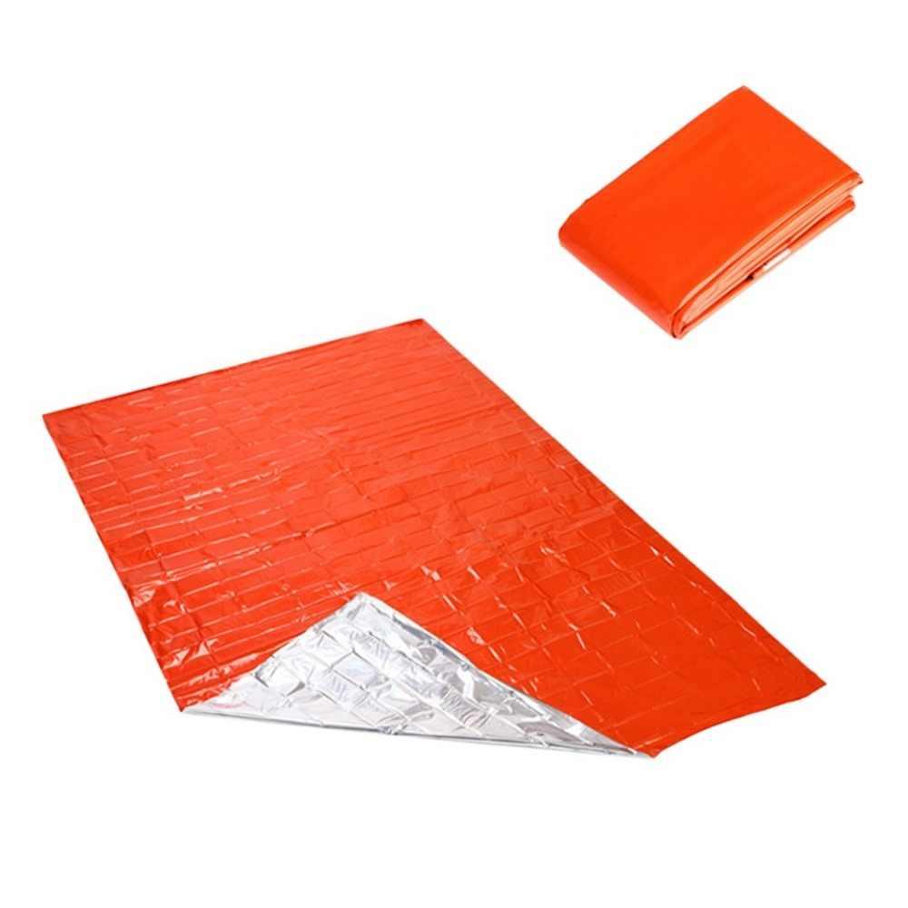 2,1*1,3 м для кемпинга портативное для чрезвычайных обстоятельств одеяло первой помощи спасательный занавес Спасательные Инструменты для палаток уличный спасательный оранжевый инструмент