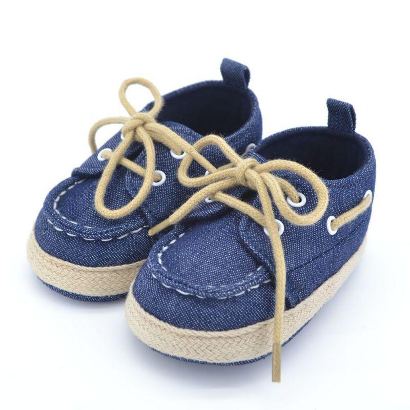 Toddler Primeros Caminante Zapatos de Bebé de la Zapatilla de deporte de Lona de