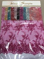 Make in China Guipure african Bridal Beaded Lace,guipure lace fabric for wedding bridal dress,party dress
