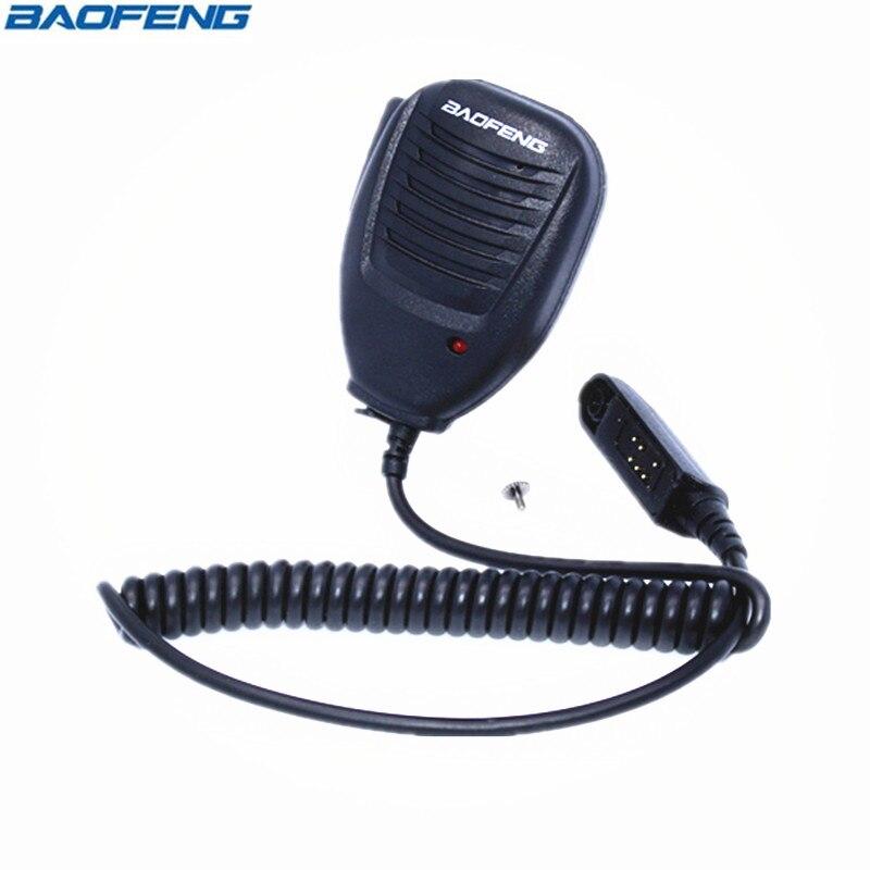 Baofeng UV-9R Étanche Haut-Parleur Mic Microphone Pour BaoFeng UV-XR UV-9R Plus GT-3WP UV-5S Retevis RT6 Étanche Talkie Walkie