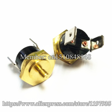 Hex head copper screw KSD301 10A 250V 150C Temperature Switch Screw cap M4 150 degrees  Normally closed