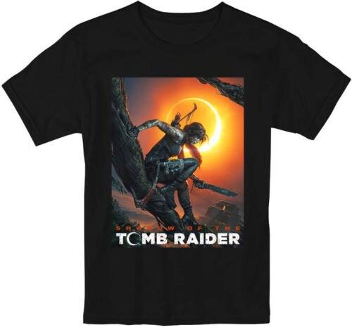 Shadow Of The Tomb Raider Gioco Movie Film Maglietta Uomini E Donne S-5XL Più Nuovo 2018 Fashion