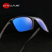 UVLAIK Glasses Men Polarized Sunglasses Classic Retro Brand