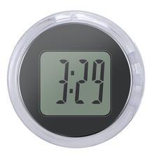 Новые мини-мотоциклетные часы водонепроницаемые палки-на кронштейн для мотоцикла часы мото цифровые часы с секундомером