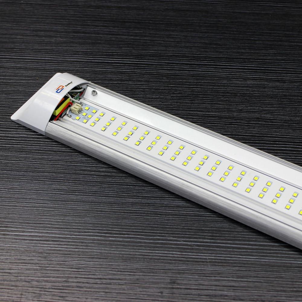 led tube 4FT 1200mm 40W AC85-265V LED Ceiling Lamp tube SMD 2835 EPISTAR aluminum / PC Case anti-dust Super Slim LED light bar kinfire circular 6w 420lm 6500k 30 x smd 3528 led white light ceiling lamp w driver ac 85 265v