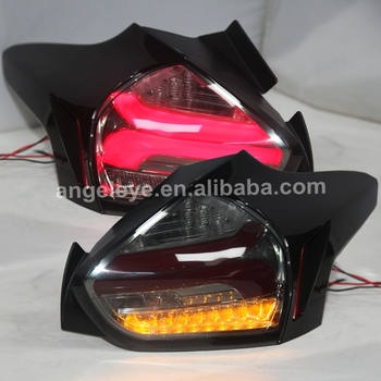 Full LED Tail Lamp for Focus 4 Hatchback 2015-2018 year Smoke housing Clear lens SN