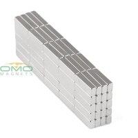 OMO Magnetics 100PCS 10 x 3 x 2 mm N35 Grade Strong Block Cuboid Magnets Rare Earth Neodymium magnet Materials