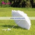 Frete Grátis Laço Do Casamento Guarda-chuva Branco