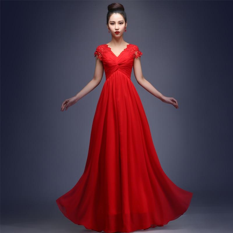 Lujoso Vestidos Rojos Del Partido Colección - Vestido de Novia Para ...