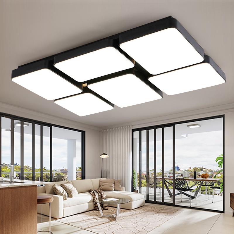 Moderne Minimalistische Atmosphre Led Deckenbeleuchtung Rechteckigen Wohnzimmer Lampen LED Schlafzimmer Raum Studie Lich