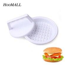 Hoomall Кухня DIY пищевой пластик пресс-инструмент для мяса для гамбургеров Патти мейкер для бургеров из мяса плесень бургер мейкер инструменты для приготовления пищи