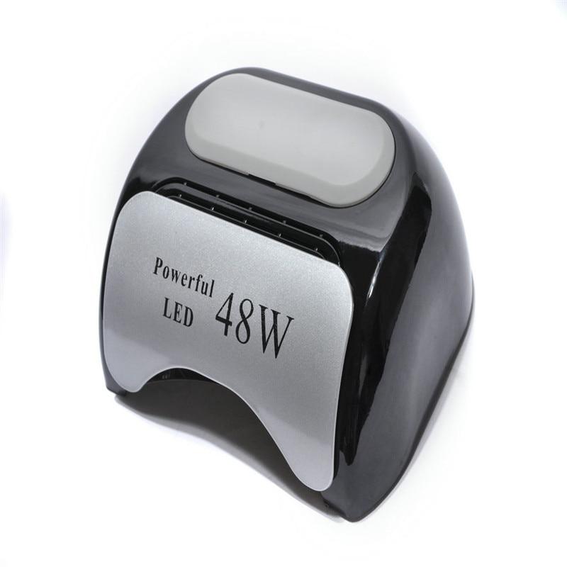 Professionelle 48 Watt 110 V 220 V Us Eu-stecker Led Uvgel-nagel Licht Lampe Nagel-kunstpolier Nagelpflege Trockner Lampe Für Maniküre Schönheit & Gesundheit