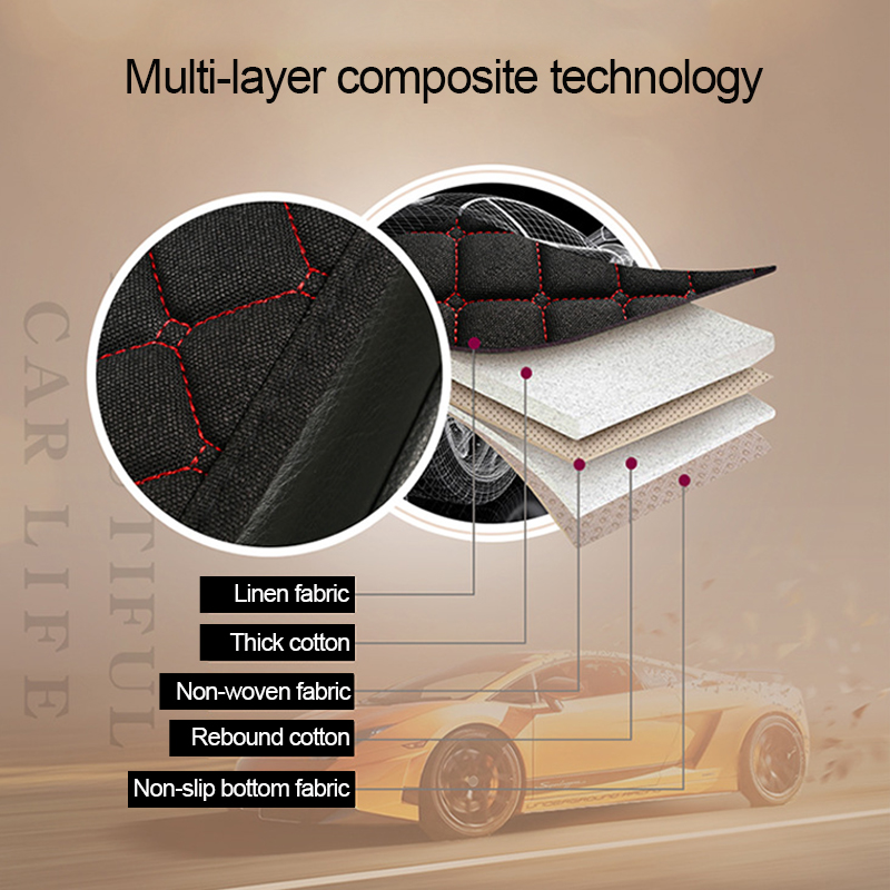Image 3 - Car Accessories Car Seat Cover Flax Car Seat Protector Cushion Automobiles Seat Covers Set Universal Interior Auto Accessories-in Automobiles Seat Covers from Automobiles & Motorcycles