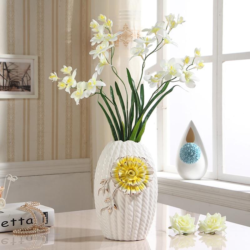 Hydroponic Fashion Ceramic Flower Vase Decoration Living Room Dining