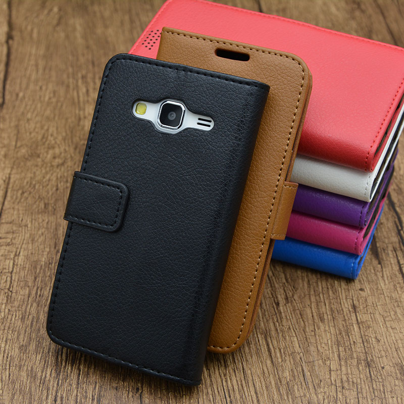 Luxury Leather Case For Samsung GALAXY Core Prime G360F ...