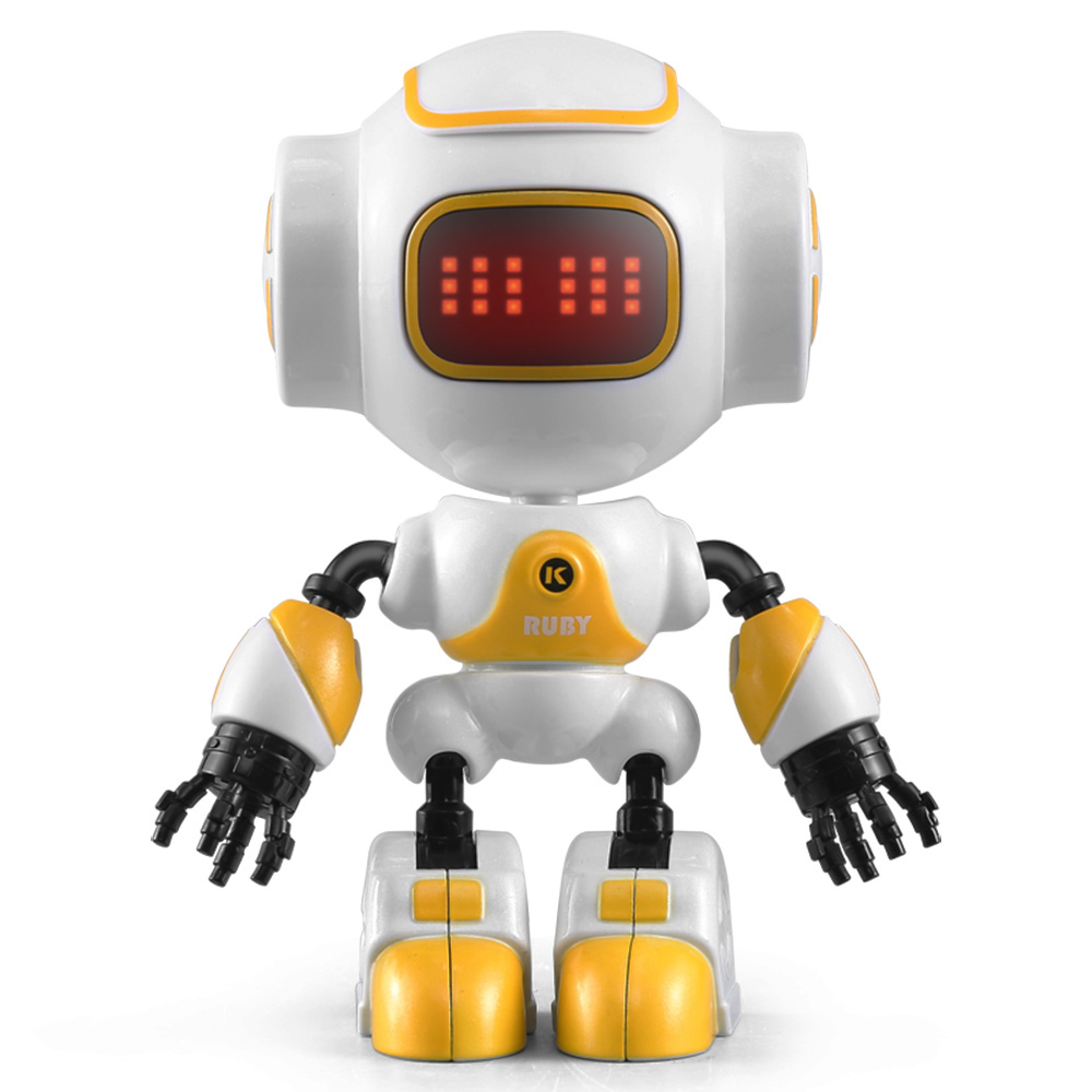 US $11 78 25% OFF|R9 LUBY Intelligent Smart RC Robot Touchable Control DIY  Gesture Talk Cute Mini Robot RC Toys for Kids Children-in RC Robot from