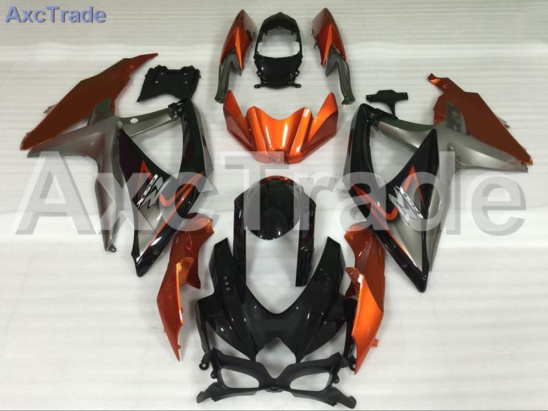 Мотоцикл Обтекатели для Suzuki GSXR системы GSX-Р 600 750 GSXR600 GSXR750 2008 2009 2010 К8 пластичной Впрыски ABS обтекатель Bodywok оранжевый