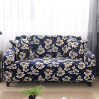 Universal Stretch Sofa Cover Printing Seat Flower Sofa Covers Flexible Slipcovers Couch Cover Furniture Loveseat Towel