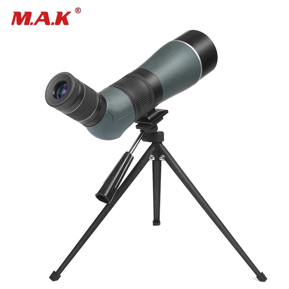 Big Angle 15-45X65 Spotting Scope Zoom Low Light Level Night Monocular Birdwatch & Universal Waterproof зрительная труба veber snipe 15 45x65 gr zoom