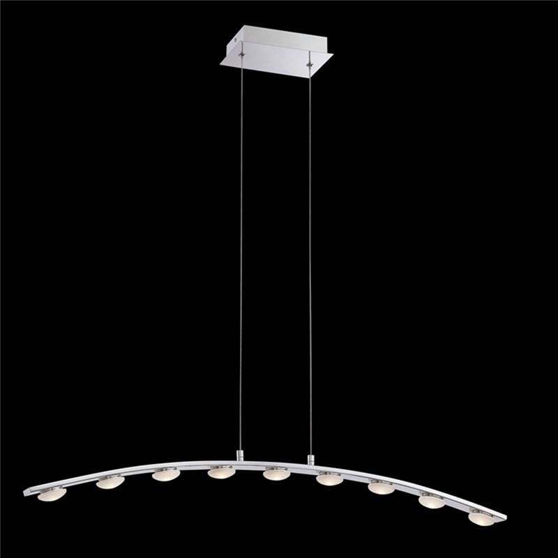 Пользовательские современный минималистский Творческий акриловые исследования 9 светодиодный люстры спальня гостиной столовой Нержавеющ