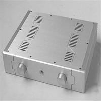 BZ4310D Aluminum enclosure Preamp chassis Power amplifier case/box size 430*105*340mm 066 Amplifier Consumer Electronics -