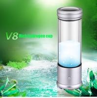 350ML Hydrogen Rich Water Generator Alkaline Energy Bottle Hydrogen Water Ionizer Antioxidant Healthy Anti Aging Cup