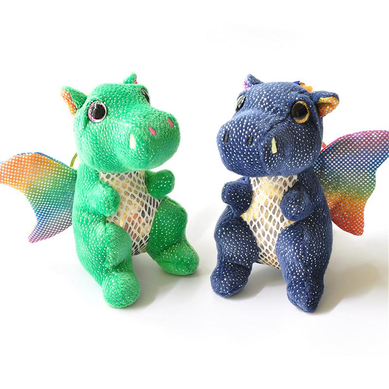 Woodworking Machinery & Parts Cartoon Little Dragon Dinosaur Plush Toys For Children Mini Plush Toy Keychain Doll Decoration Pendant Random Color