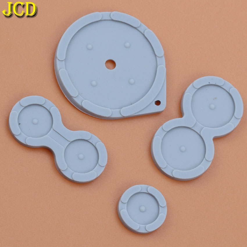Image 2 - JCD 1Set Rubber Conductive Buttons For Nintend Game Boy Advance SP For GBA SP Silicone Pads Buttons-in Replacement Parts & Accessories from Consumer Electronics
