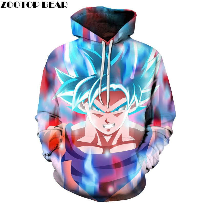 Dragon Ball Hoodies Men Women 3D Hoodie Dragon Ball Z Sweatshirts Anime Fashion Casual Tracksuits Boy Jackets Hooded Pullover