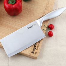 Hot sale kitchen knife 7 inch chef knife made of 7CR17 stainless steel and color wood handle multipurpose high-end cooking tools