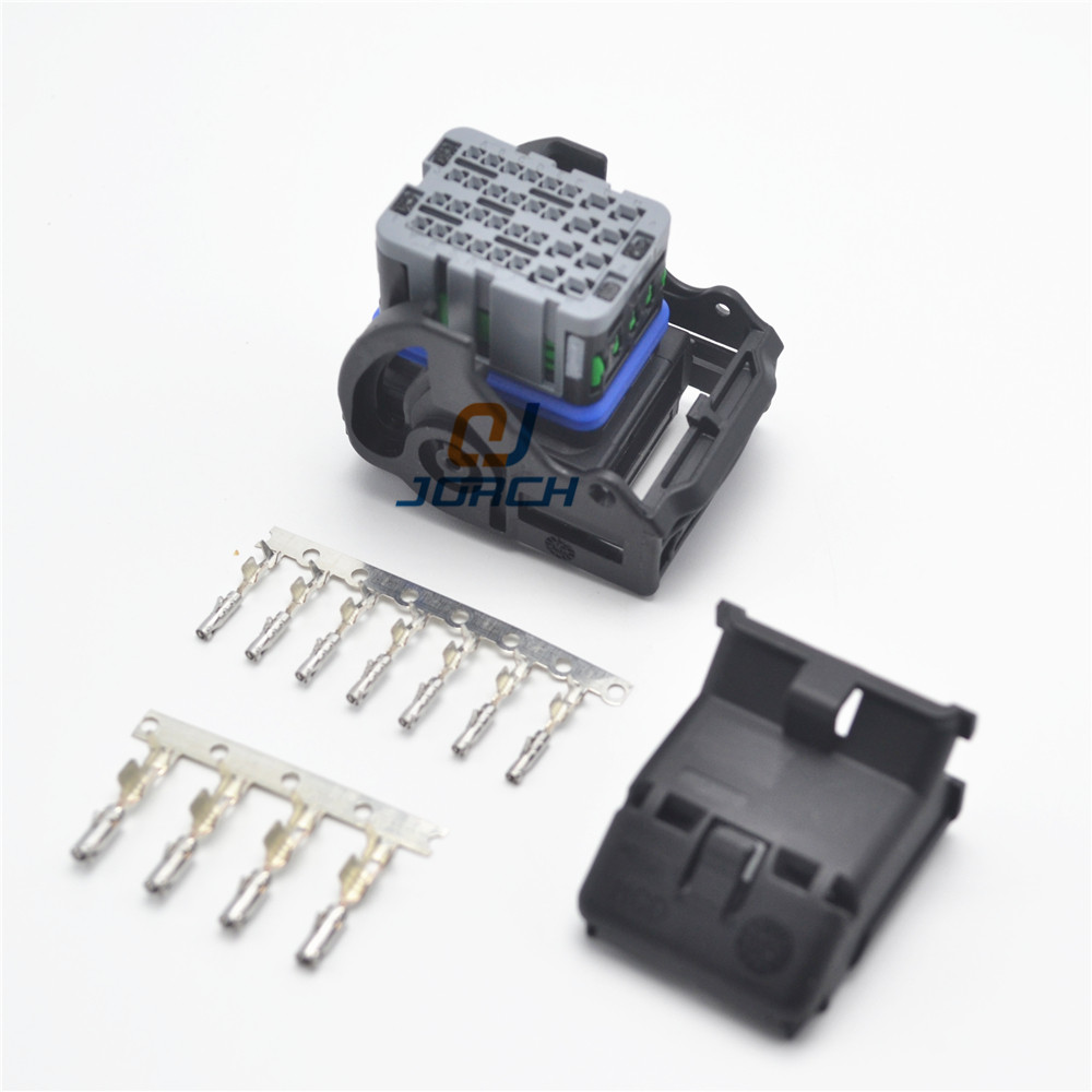 1 kit set 32 pin way ECU Wire Automotive connector Housings Receptacle Molex Connectors with pins trlr hitch receptacle kit