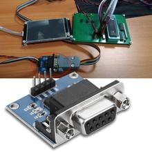 цена на 3pcs RS232  to TTL Converter Board Serial Port Adapter Module w/ Indicator Serial Port Converter Board