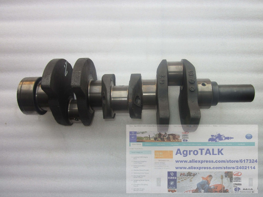 N385 06004 crankshaft for Changchai ZN385 ZN390T engine for tractor like Dongfeng series