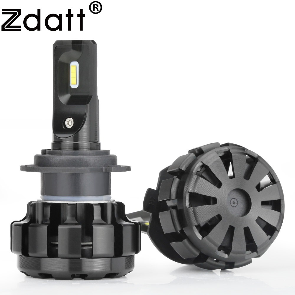 Zdatt 2Pcs Super Bright H7 <font><b>Led</b></font> Bulb Canbus 9600Lm Headlights <font><b>H4</b></font> H8 H11 9005 HB3 Car <font><b>Led</b></font> Light 12V 60W Fog Lamp Automobiles
