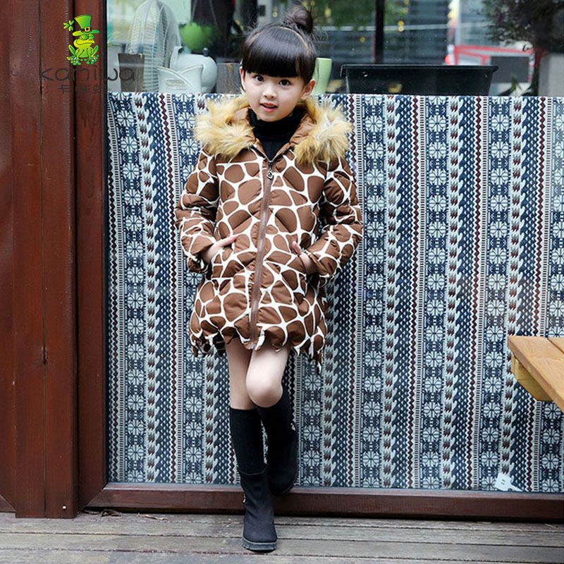2017 Fashion Girl s Jackets Coats Winter Russia Baby Coats thick Warm jacket Children Outerwears jackets
