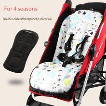 Waterproof baby stroller seat cushion Double side seat liner Universal soft pad for four seasons Soft mattress pram accessories