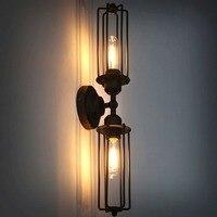 Vintage Wall Lamp Loft Wall Light Fixtures E27 110v 220V Decor Luminaire Home Lighting Retro Sconce Country Kitchen Abajur Avize
