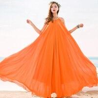 Plus Size Big Hem Summer Bridesmaid Sundress Holiday Beach Maxi Dress Beach Wedding Party Guest Sundress Plus Size Boho Dresses