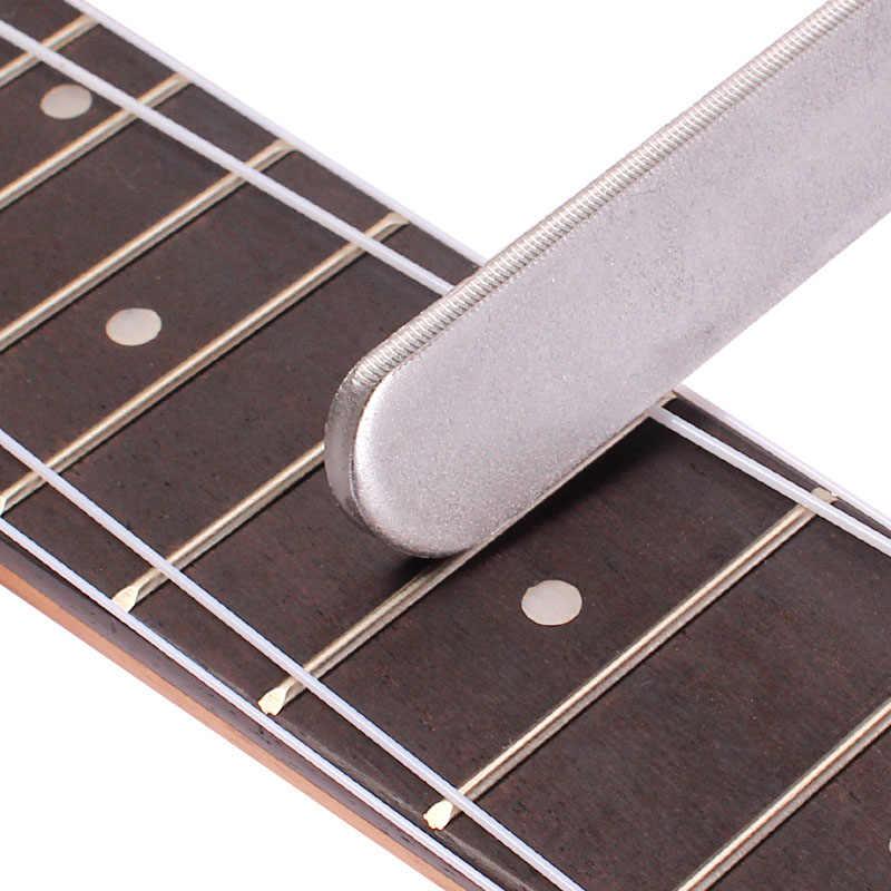 Guitare Fret couronnement Luthiers outils fichier étroit double tranchant Durable
