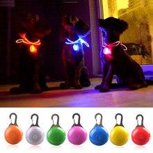 LED Taschenlampe Hund Katze Kragen Glühender Anhänger Nacht Sicherheit Pet Führt Halskette Leuchtend Helle Dekoration Halsbänder Für Hunde