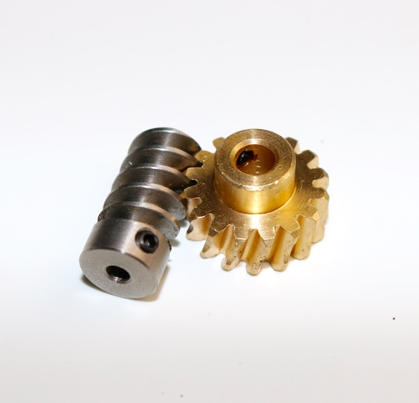 1M-16T/2T  worm gear rod  speed ratio:1: 8 Suitable  high torque reducer model steering gear lifting device 1 digital stainless steel worm gear diy toy research and manufacture of the transmission mechanism of the speed ratio 1 20