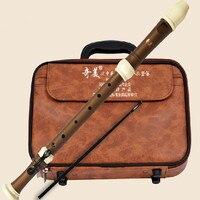 Тенор флейта кларнет барокко 8 отверстий Регистраторы Бас Музыкальные инструменты Китайский Вертикальная Flauta ABS смолы не деревянный тенор