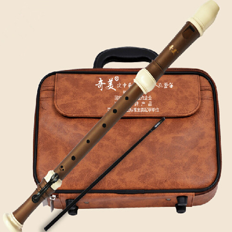 Tenor Flute Clarinet Baroque 8 Hole Recorder Bass Music Instruments Chinese Vertical Flauta ABS Resin not Wooden Tenor Flute baroque flute concertos