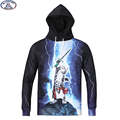 15-20 years teens brand hooded sweatshirt boys Super Lightning cat 3D printed hip hop drawsting hoodie Autumn winter hoody MH20