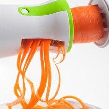 الخضار Spiralizer الفاكهة مبشرة لولبية القطاعة القاطع Spiralizer ل الجزر الخيار Courgette أدوات مطبخ أداة