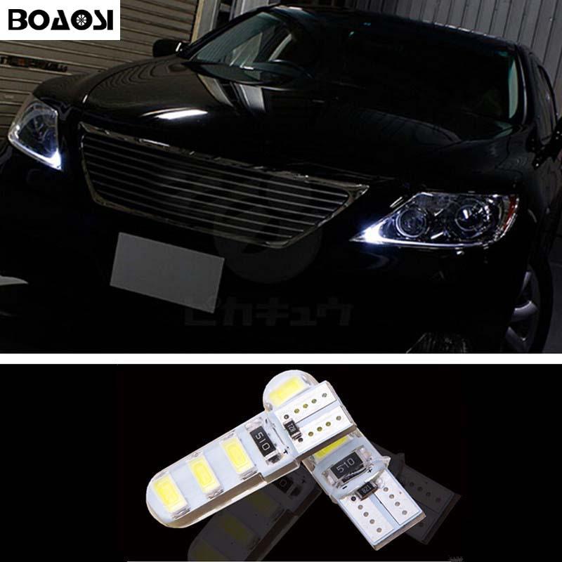 BOAOSI 2x T10 W5W 5630SMD Errori Samsung LED Canbus Per lexus rx300 rx330  rx350 is200 is250 gs300 lx470 lx570 gx47 ES350 7b9396a0fdc