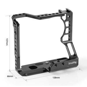 Image 2 - Cage pour appareil photo DSLR small rig pour Sony A6000/A6300/A6500 avec appareil photo Meike MK A6300/A6500 avec Kit de Cage de poignée de batterie 2268